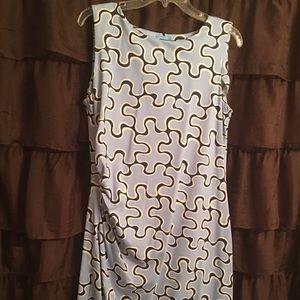 J McLaughlin Puzzle Print Dress